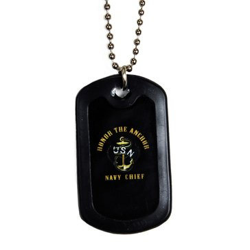 Eagle Crest USN Honor The Chief Dog Tag