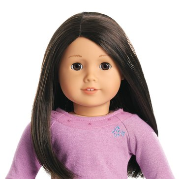 American Girl Truly Me Doll Brown Eyes, Light Skin and Long Black-Brown Hair