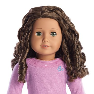American Girl Truly Me Doll Hazel Eyes, Medium Skin and Curly Dark-Brown Hair