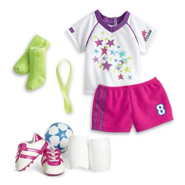 American Girl Soccer Team Outfit for Dolls