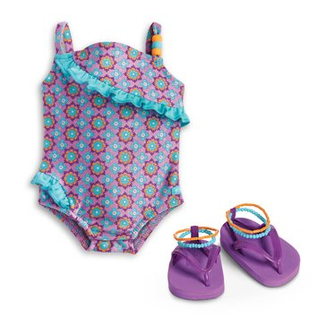 American Girl Boho Beachy Swimsuit for Dolls