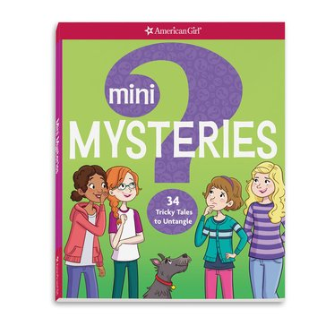 American Girl Mini Mysteries Activity Book
