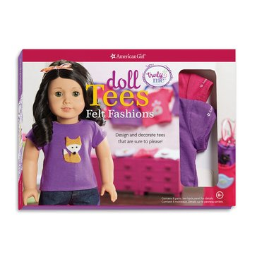 American Girl Truly Me: Doll Tees Felt Fashions Activity Book