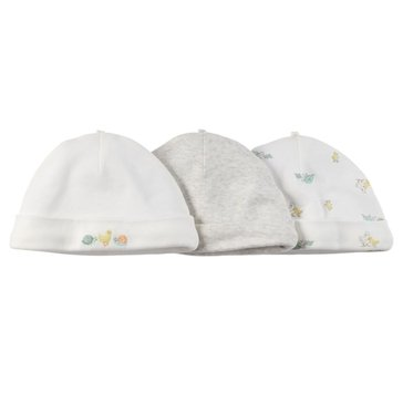 Carter's Baby Boys' 3-Pack Ivory Hat