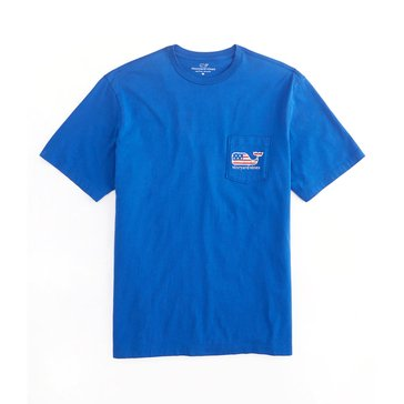 Vineyard Vines Men's Whale Pocket Tee