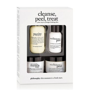 Philosophy Cleanse Peel Treat Kit