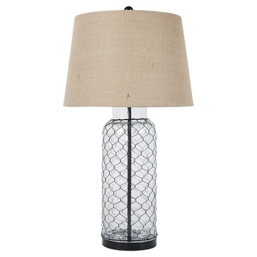 Signature Design by Ashley Sharnayne Glass Table Lamp (L430114)