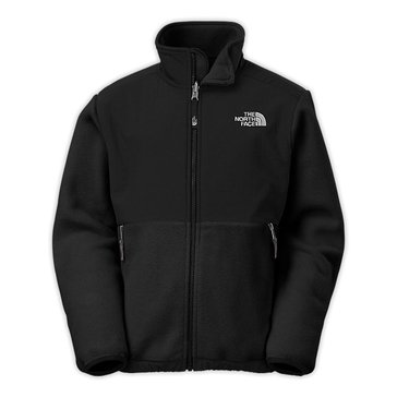 The North Face Big Boys' Denali Jacket, Black