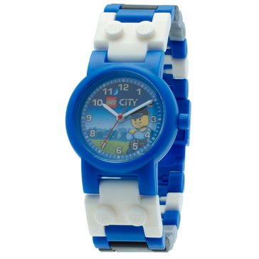 LEGO Kids' City Special Police Minifigure Watch