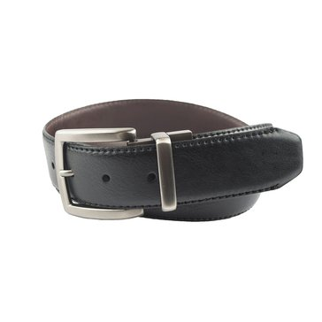 Columbia 38MM Reversible With Stitching & Brass Buckle Men's Casual Belt