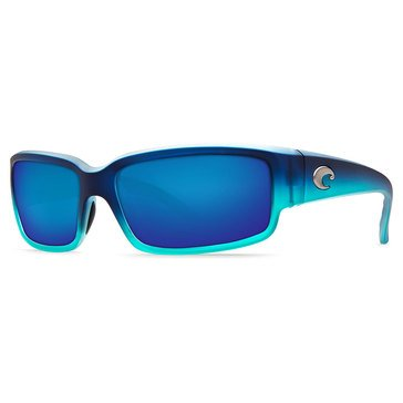 Costa Women's Caballito Polarized Sunglasses CL730BMP, Caribbean Fade/ Blue Mirror 59.2