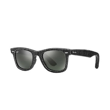 Ray-Ban Unisex Original Wayfarer Sunglasses RB2140, Denim G-15 50mm
