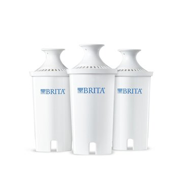 Brita Water Filter Pitcher Advanced Replacement Filters, 3 Count