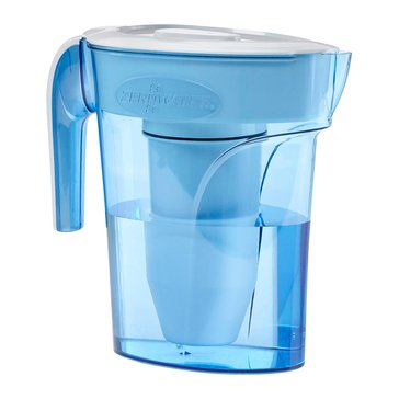 ZeroWater 6-Cup Space Saver Pitcher with Free TDS Light-Up Indicator (ZP-006)