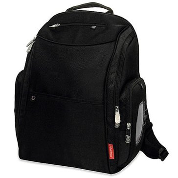 Fisher-Price FastFinder Dome Diaper Backpack, Black
