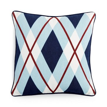 Tommy Hilfiger Buckaroo Plaid Argyle Decorative Pillow