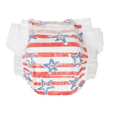 The Honest Company Diapers, Stars & Stripes - Size N, 40-Count