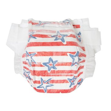 The Honest Company Diapers, Stars & Stripes - Size 2, 40-Count