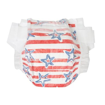 The Honest Company Diapers, Stars & Stripes - Size 3, 34-Count