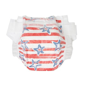 The Honest Company Diapers, Stars & Stripes - Size 4, 29-Count