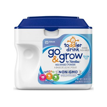 Similac Go & Grow Non-GMO Toddler Drink 1.38LB
