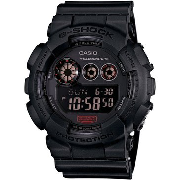 Casio G-Shock Men's Military Black Watch GD120MB-1, Black 55mm