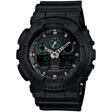 Casio G-Shock Men's Military Series Watch GA100MB-1A, Black 55mm