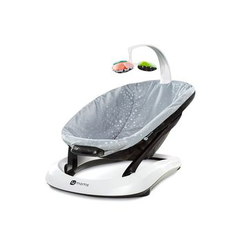 4moms bounceRoo Bouncer, Silver Plush