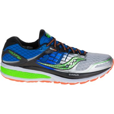 Saucony Triumph ISO 2 Men's Running Shoe Blue/ Slime/ Silver