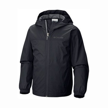 Columbia Big Boys' Glennaker Rain Jacket, Black
