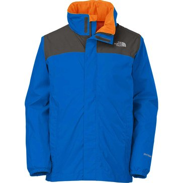 The North Face Big Boys' Resolve Rain Jacket, Monster Blue