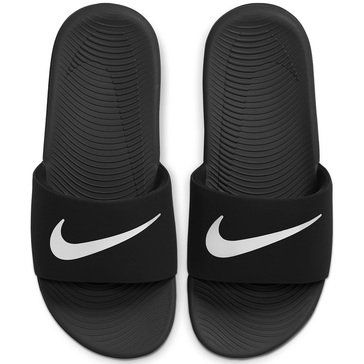 Nike Kawa Slide Boys' Sandal Black/ White