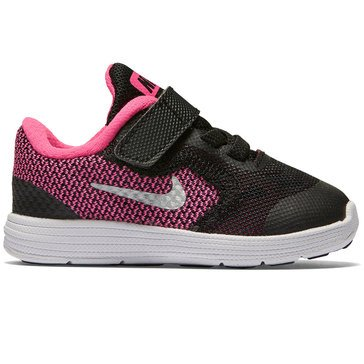 Nike Revolution 6 Girls' Running Shoe Black/ Hyper Pink