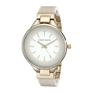 Anne Klein Women's Glitters Bangle Bracelet Watch 36mm