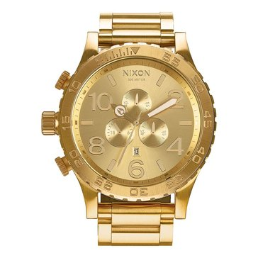 Nixon Men's 51-30 All Gold Chrono Watch, 51mm