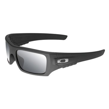 Oakley Standard Issue Men's Ballistic Det Cord Sunglasses, Cerakote Graphite Black/Grey