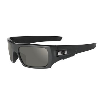 Oakley Standard Issue Men's Ballistic Det Cord Sunglasses, Matte Black/Grey