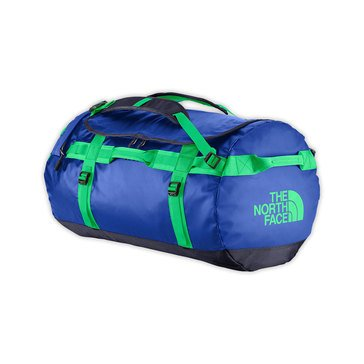 The North Face Base Camp Large Duffel (Honor Blu/Blarney Grn)