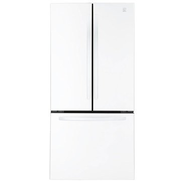 Kenmore 23.9-Cu.Ft. French Door Refrigerator, White (46-71312)