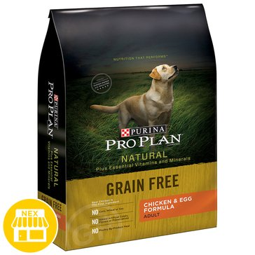 Pro Plan Naturals Grain Free Chicken & Egg Dry Dog Food, 16 lbs.