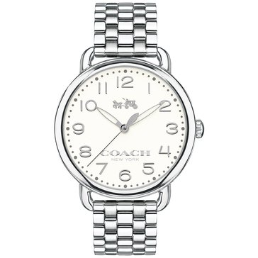 Coach Women's Delancey Chalk/Stainless Steel Watch, 36mm