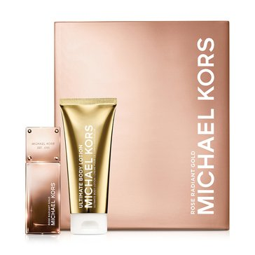 Michael Kors Gold Collection Rose Radiant Gold Set