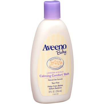 Aveeno Baby Calming Comfort Bath Lavender and Vanilla 8oz