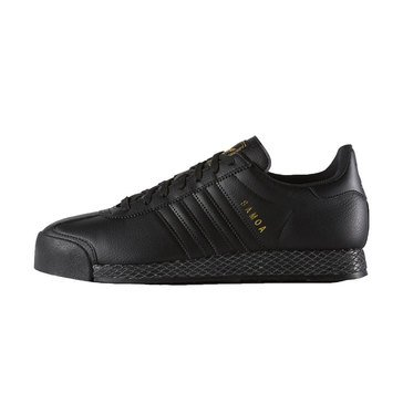 adidas Samoa Premium Men's Court Shoe Black / Black / GoldMetalic