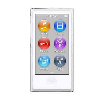 Apple iPod Nano 16GB - White & Silver