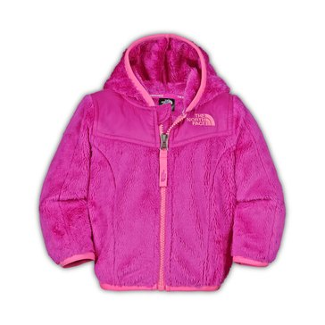 The North Face Baby Girls' Oso Hoodie, Luminous Pink
