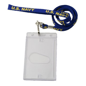 Mitchell Proffitt USN Tubular Lanyard With Badge Holder