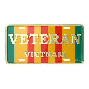 Mitchell Proffitt Vietnam Veteran License Plate