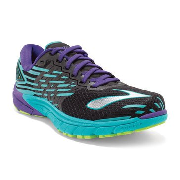 Brooks PureCadence 5 Women's Running Shoe - Black / Ceramic / Prism Violet