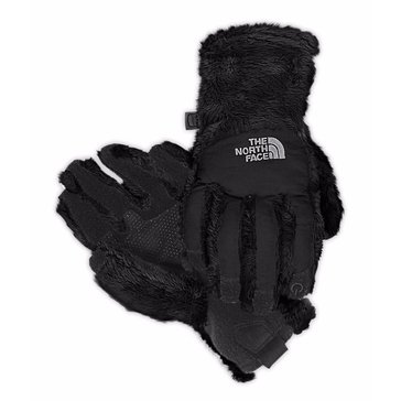 The North Face Girls' Denali Thermal ETIP Glove, Black